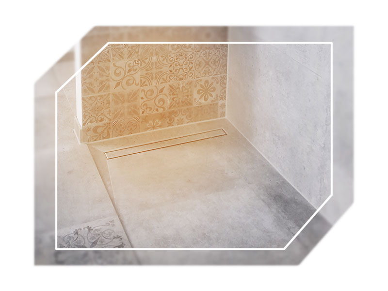 Barriererefreies Badezimmer