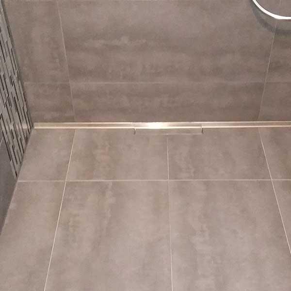 Ebenerdige Dusche Ablauf